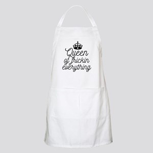 Queen Of Frickin Everything Light Apron