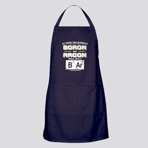 Boron & Argon Walk Into A BAr Apron (dark)