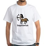 Sagittarius (White T-Shirt)