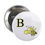 B is for Bee Button