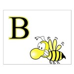 B is for Bee Small Poster