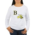 B is for Bee Women's Long Sleeve T-Shirt
