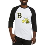 B is for Bee Baseball Jersey