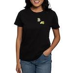 B is for Bee Women's Dark T-Shirt