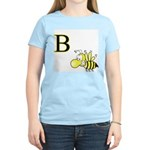 B is for Bee Women's Pink T-Shirt