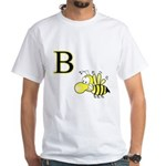 B is for Bee White T-Shirt