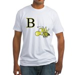 B is for Bee Fitted T-Shirt