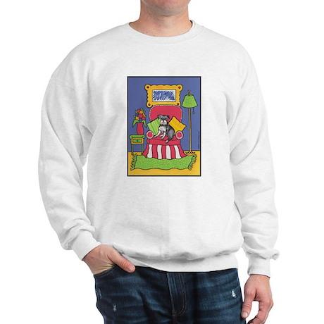 """Sitting Pretty"" Schnauzer Sweatshirt"