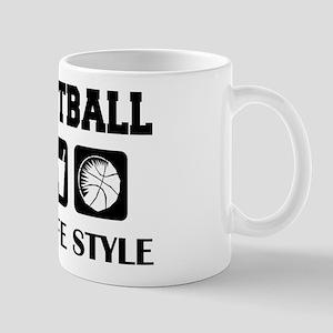 Sleep Eat Play Basketball Mug