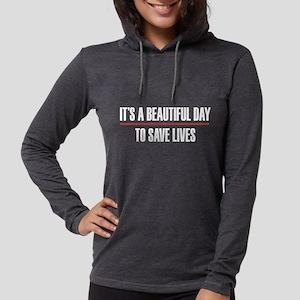 Grey's Anatomy It's A Beautifu Womens Hooded Shirt