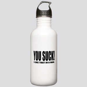 You Suck! Funny Design Stainless Water Bottle 1.0L