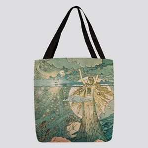 Enchantment Polyester Tote Bag