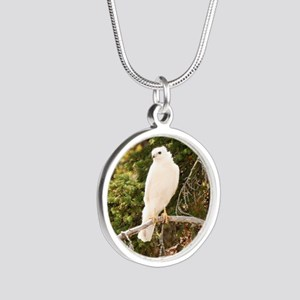 White red tail hawk Necklaces