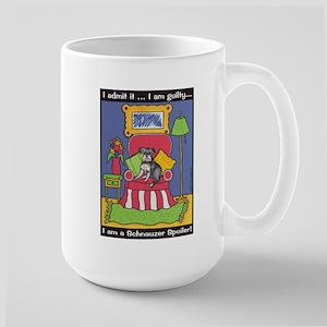 "Schnauzer ""Spoiler"" Large Mug"