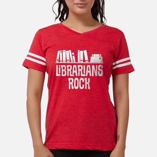 Librarians Rock Book Gift T-Shirt