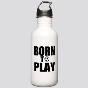 Born to Play Stainless Water Bottle 1.0L