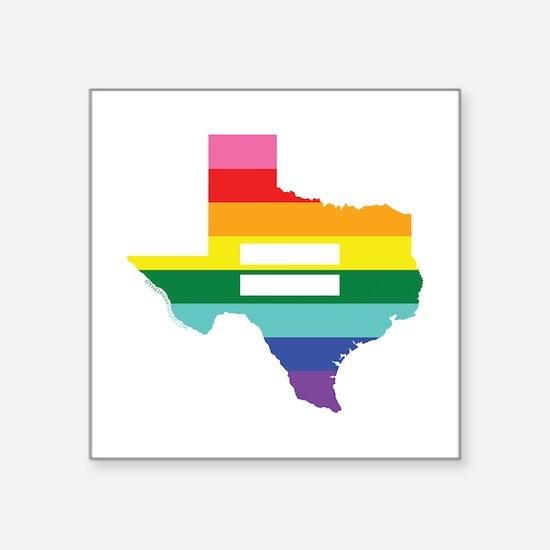Texas equality Sticker