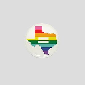 Texas equality Mini Button