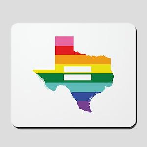 Texas equality Mousepad