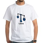 Libra (White T-Shirt)