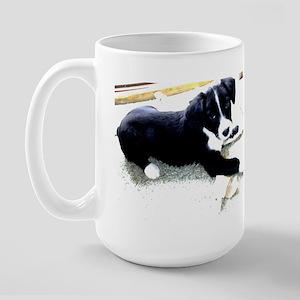 """Adorable Puppies"" Large Mug"