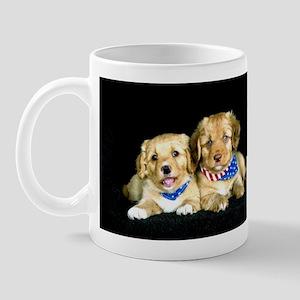 """Adorable Puppies"" Mug"