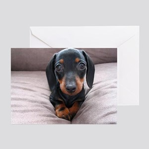 """""""Adorable Puppies"""" Greeting Cards (Pk of 10)"""