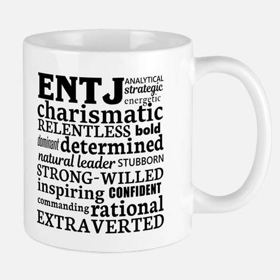Entj Commander Myers-Briggs Personality Mugs