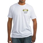 Are you looking at my bees Fitted T-Shirt