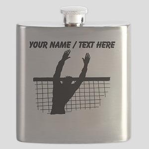 Custom Volleyball Block Flask