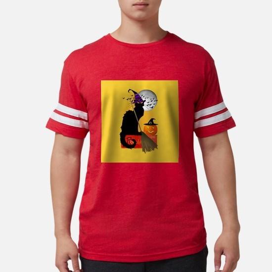 Le Chat Noir - Halloween Witch T-Shirt