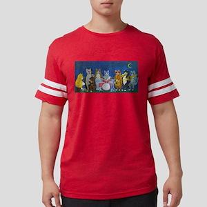 Salsa Cats at Nigh T-Shirt