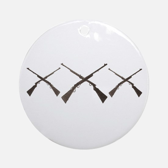 THE XXX HUNTER Ornament (Round)