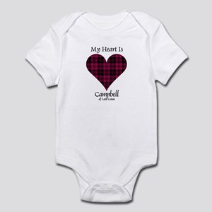 Heart - Campbell of Loch Laine Infant Bodysuit