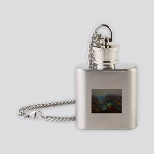 Florence Italy Flask Necklace