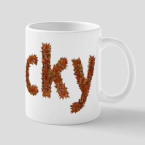 Vicky Fall Leaves Mugs