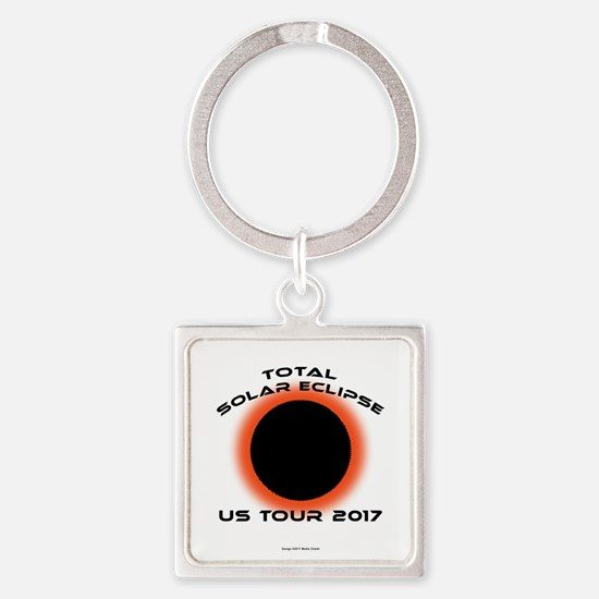 Cool Bands of america Square Keychain