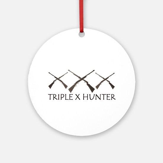 TRIPLE X XXX Ornament (Round)