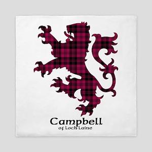 Lion - Campbell of Loch Laine Queen Duvet