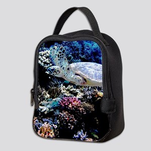Sea Turtle Neoprene Lunch Bag