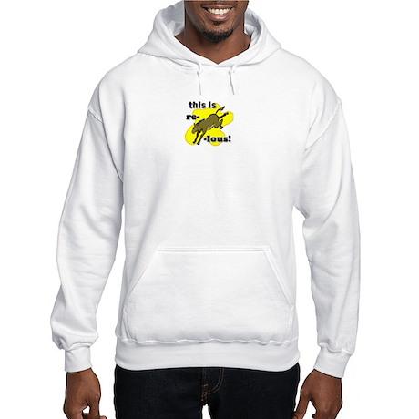 This is reDONKEYlous. Hooded Sweatshirt