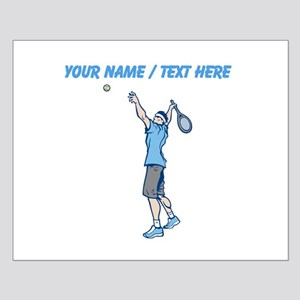 Custom Tennis Serve Poster Design