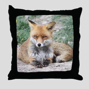 Fox002 Throw Pillow