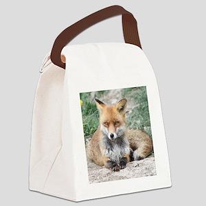 Fox002 Canvas Lunch Bag