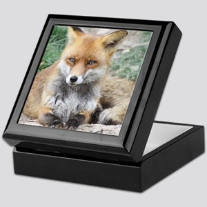 Fox002 Keepsake Box