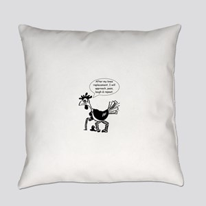 Knee Replacement Surgery - Fun Quo Everyday Pillow