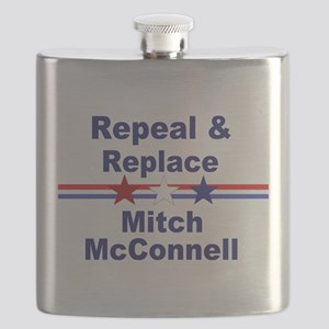 Repeal and replace Mitch McConnell Flask