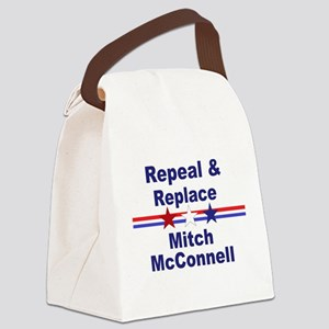 Repeal and replace Mitch McConnel Canvas Lunch Bag