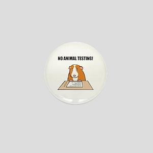 No Animal Testing! Mini Button