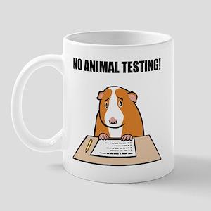 No Animal Testing! Mug